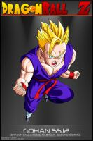 Dragon Ball Z - Gohan SSJ2 M10 by DBCProject