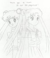 Sailor Moon + Usagi Tsukino by CookieDoughx3