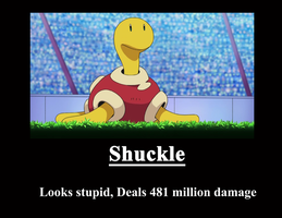 Shuckle Poster by metalshadowinsanity