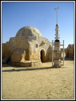 Star Wars set in Tunisia by Dativo