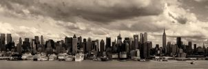 New York City view from NJ by peterohara