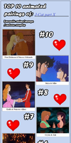 My Top 10 Couples part X by J-Cat