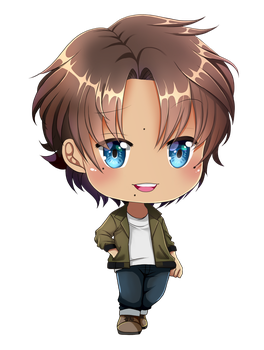 Heather: Chibi 2 by fayntcommissions