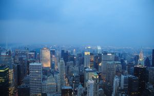 New York by Night Wallpaper by zuckerblau