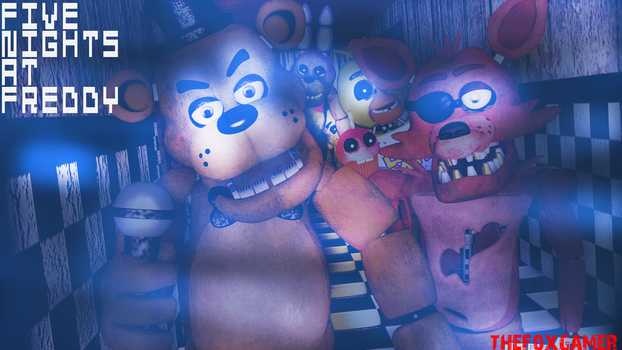 |C4D|FNAF|Five Nights At Freddys REMAKE| by TheFoxGamerOfficial2