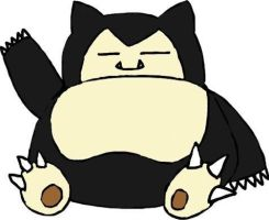 Practice: Snorlax by tanlisette