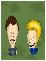 Beavis and Butthead by MeckelFoxStudio