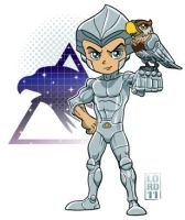 Lil Quicksilver 'n' Tallyhawk by lordmesa