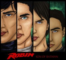 Sons of Batman by CrookedCat