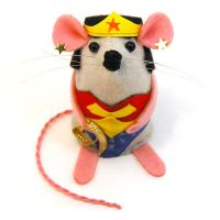 Wonder Woman Mouse by The-House-of-Mouse