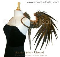 CHANTAL Natural feather WINGS by eProductSales