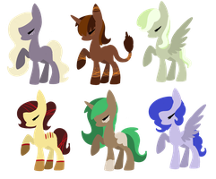 Pony Breedables [closed] by redroseadopts