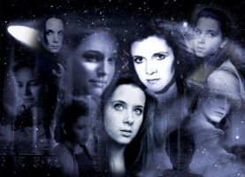 The Women of Star Wars by DistantDream