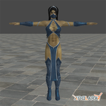 Mortal Kombat 9: Kitana by blufan