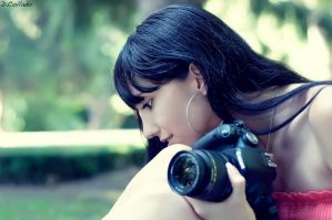 Me and my camera by Lady-Veronica
