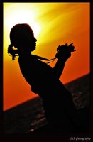 Sunset Silhouette by z3LLLL
