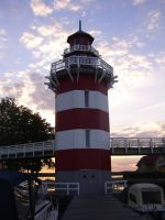 Lighthouse at late afternoon Part III - Rheinsberg by JulesJumper