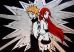 Minato and Kushina by prusce