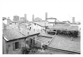 Rooftops of Bologna by barefootliam