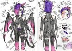 Anzu Reference Sheet by Charicial