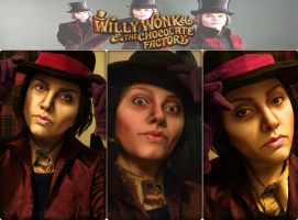 Willy Wonka by Hannabal Marie by HannabalXMarie