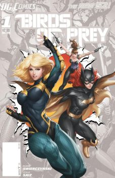 New Birds of Prey 0 by Artgerm