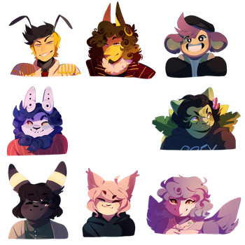 SWGM- Headshots by EmpurrorMooks