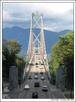 Lions Gate bridge by anotherview