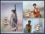 BB-8 and friends by Loony-Lucy