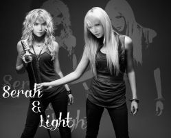 Serah and Light by FantasyRockGirl