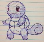 Squirtle Sketch by uchihaguy