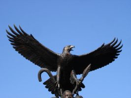 Eagle Statue by MapleRose-stock