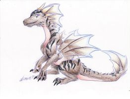 Little Dragonne by ManueC