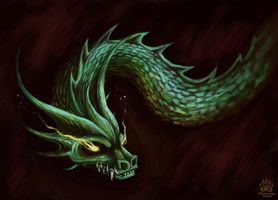 Serpent. by MindlessKaos
