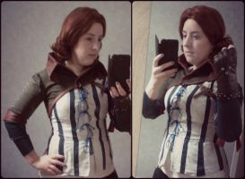 WIP / Triss Merigold - The Witcher by NatAtalante