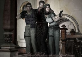 In another reality by IamAlbertWesker