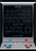 High Tech World - Typographic Poster by stiannius
