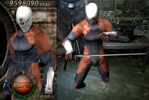 Gray Fox In resident evil 4 2 by Zerofrust