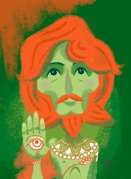 George Harrison by LArtisteInconnu