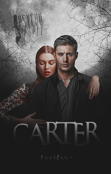 Carter [wattpad cover] for lxcifer- by TheMaleviQueen