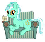 Lyra with soda by negasun