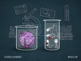 In Vitro Love by WirdouDesigns