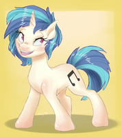 Vinyl Scratch by cadet-of-the-dead