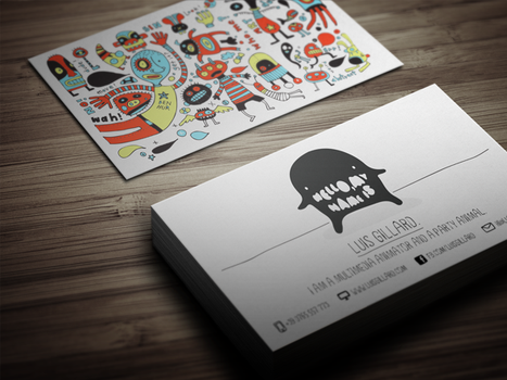 Multimedia Artist Business Card by themeflava