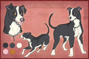 STS Dog - Hera by ShockTherapyStables