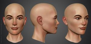Face Studie 01 by crazy-pixel