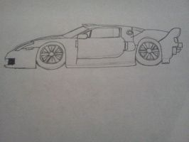 Ford GT sketch by Draguto789