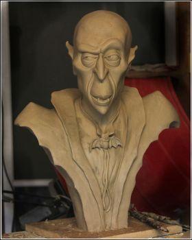 New bust WIP by RandyHand