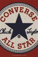 Converse All-Star iPhone Wall by kcaudesign