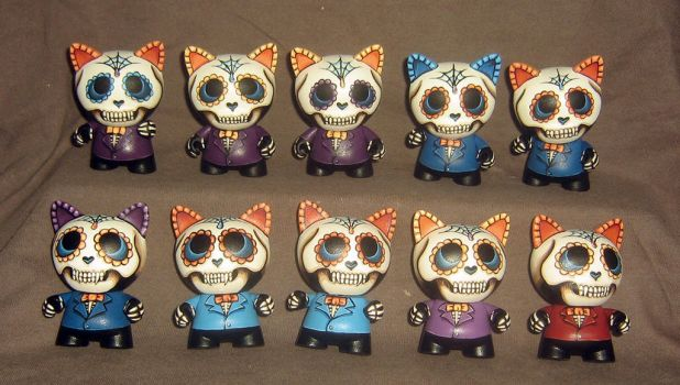 Day of the Dead Micro Trikkies by ReverendBonobo